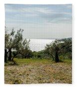 Abruzzo - An Italian Landscape  Fleece Blanket