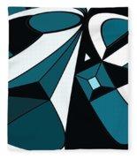 Abstrac7-30-09-a Fleece Blanket