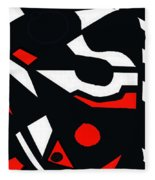 Abstrac7-30-09 Fleece Blanket