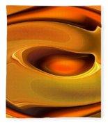 Abstrac8-15-09 Fleece Blanket