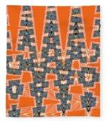 Abstract # 2060ew4a Fleece Blanket