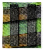 Abstract  - Cinetism Fleece Blanket