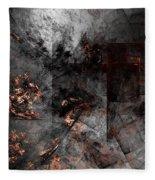 Abstract 01-07-10-a Fleece Blanket