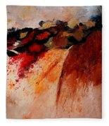 Abstract 010607 Fleece Blanket