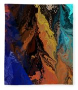 Abstract 010811 Fleece Blanket
