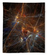 Abstract 022311 Fleece Blanket