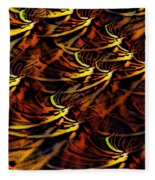 Abstract 022611a Fleece Blanket