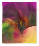 Abstract 030111 Fleece Blanket