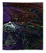 Abstract 030211 Fleece Blanket