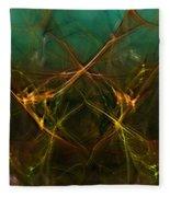 Abstract 031211 Fleece Blanket