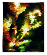 Abstract 032311 Fleece Blanket