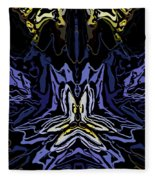 Abstract 032811-1 Fleece Blanket