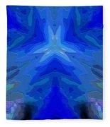 Abstract 032811-2 Fleece Blanket