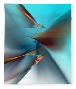 Abstract 040411 Fleece Blanket