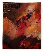 Abstract 0408 Fleece Blanket