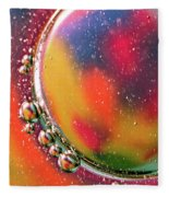 Abstract 0423d Fleece Blanket