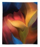 Abstract 051816 Fleece Blanket