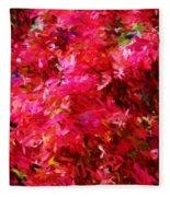 Abstract 052310 Fleece Blanket