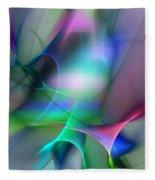 Abstract 053010 Fleece Blanket