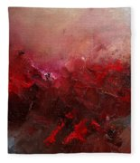 Abstract 056 Fleece Blanket