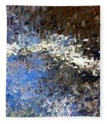 Abstract 06-03-09b Fleece Blanket