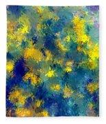 Abstract 06-28-09 Fleece Blanket