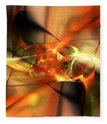 Abstract 060110a Fleece Blanket