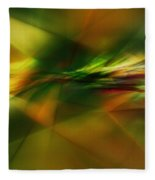 Abstract 060210 Fleece Blanket