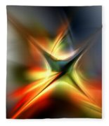 Abstract 060310a Fleece Blanket