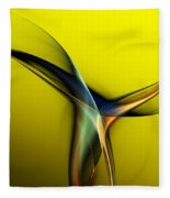Abstract 060311 Fleece Blanket