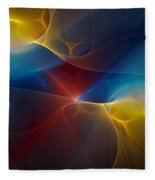Abstract 060410 Fleece Blanket