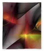 Abstract 060810 Fleece Blanket