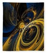 Abstract 060910 Fleece Blanket