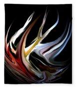 Abstract 07-26-09-c Fleece Blanket