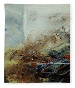 Abstract 070408 Fleece Blanket