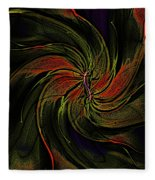 Abstract 070810a Fleece Blanket