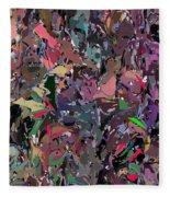 Abstract 070915 Fleece Blanket