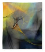 Abstract 071810 Fleece Blanket