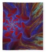 Abstract 073010 Fleece Blanket