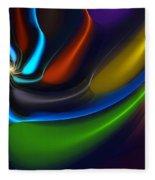 Abstract 080510 Fleece Blanket