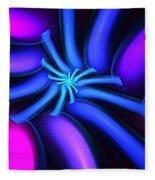 Abstract 080610b Fleece Blanket