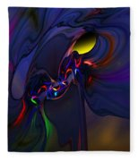 Abstract 080710 Fleece Blanket
