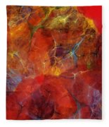 Abstract 081310 Fleece Blanket