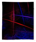Abstract 081410 Fleece Blanket