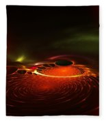 Abstract 081410a Fleece Blanket