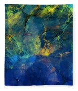Abstract 081610 Fleece Blanket