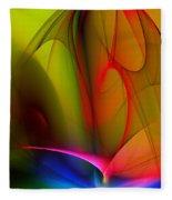 Abstract 082910 Fleece Blanket