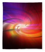 Abstract 0902 D Fleece Blanket