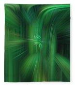 Abstract 0902 H Fleece Blanket