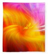 Abstract 0902 L Fleece Blanket